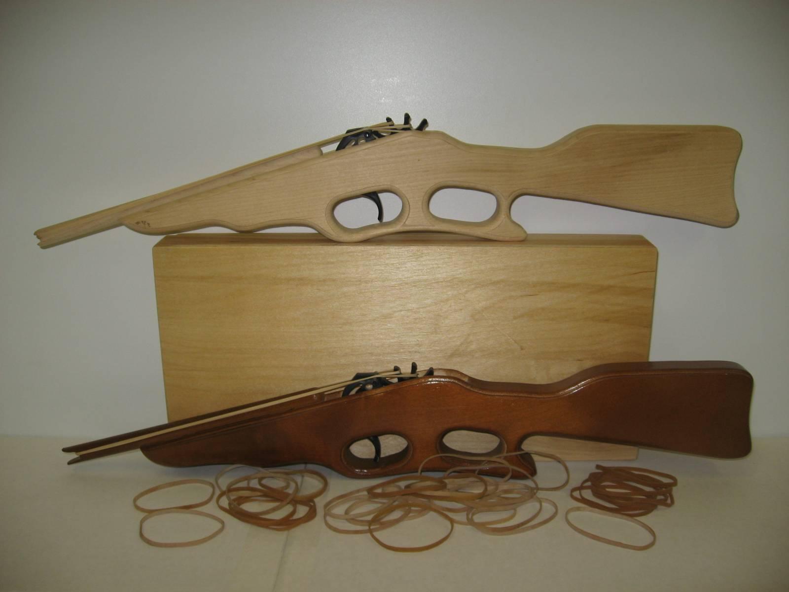 Как сделать из дерева винтовку своими руками